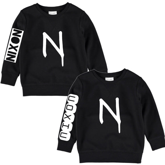Personalised Initial crewneck restock | NC X The Label