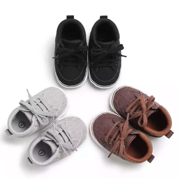 Lace up sneaker | 3 colours - nixonscloset