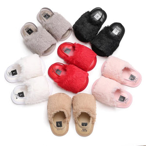 Fluffy Slides - 6 Colours - nixonscloset
