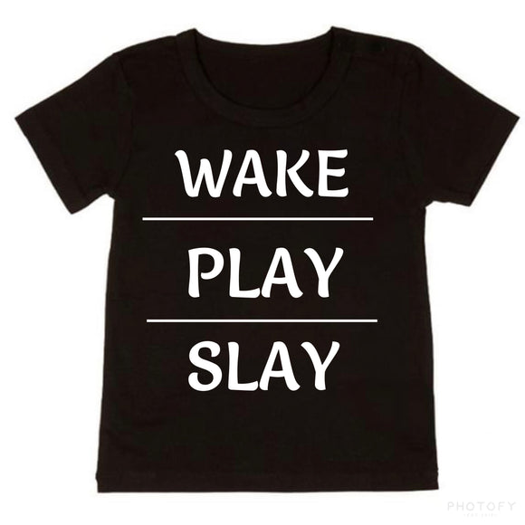 Wake Play Slay - NC X The Label - nixonscloset
