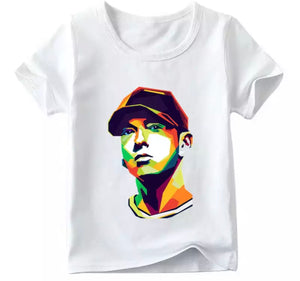 Matching Family Eminem Watercolour Tee - Adult & Child - nixonscloset