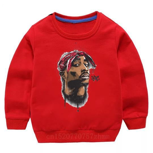Tupac Sweater - Red Bandana - nixonscloset
