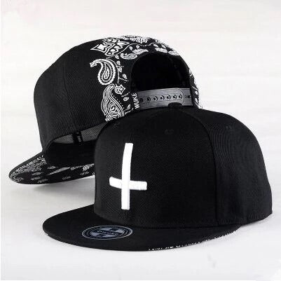 Cross Bandana Snapback Hat - Youth - nixonscloset