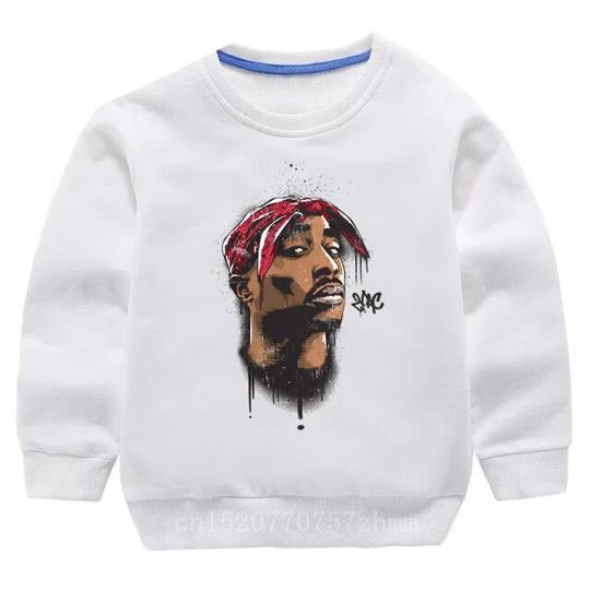 Tupac Sweater - White Bandana - nixonscloset