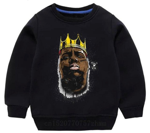 Biggie Crewneck - Graffiti Black