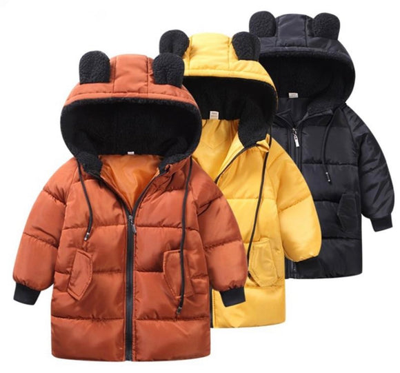 Bear Puffer Jacket - 3 Colours - nixonscloset