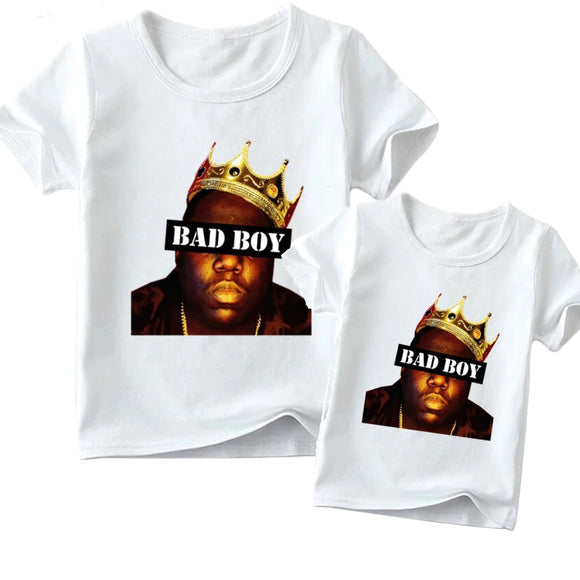 Matching Family Biggie Smalls Bad Boy tee- Adult & Child - nixonscloset