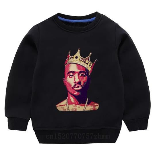 Tupac Sweater - Black Crown - nixonscloset