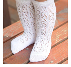 Crochet Chain Socks - 5 Colours - nixonscloset