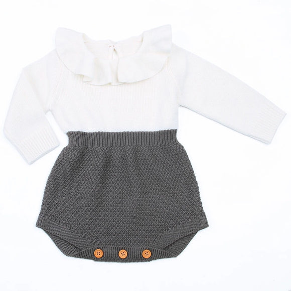 Knitted winter romper - nixonscloset