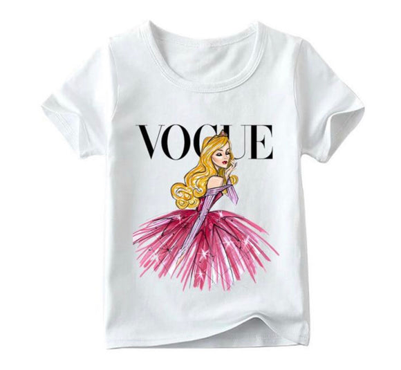Vogue - Pink Beauty Tee - nixonscloset