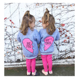 Best friends twinning jacket - nixonscloset