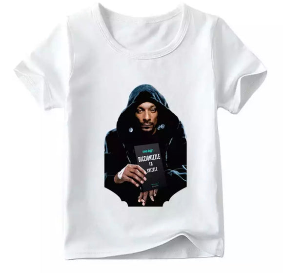 Matching family Snoop Fo Shizzle tee- Adult and children