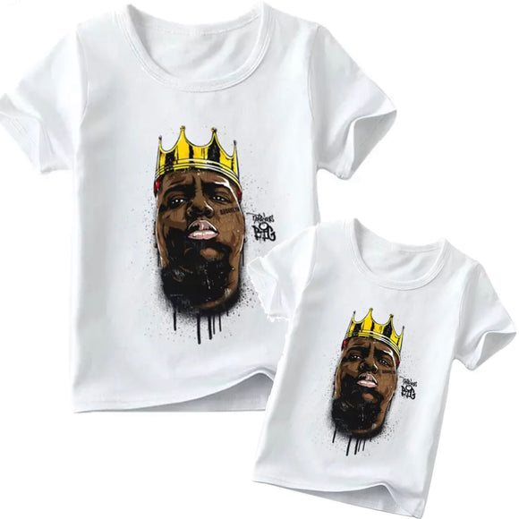 Matching Family Biggie smalls Graffiti Tee- Adult & Child - nixonscloset