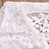 White Lace Top - nixonscloset