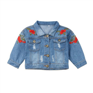 Rose Denim Jacket - nixonscloset