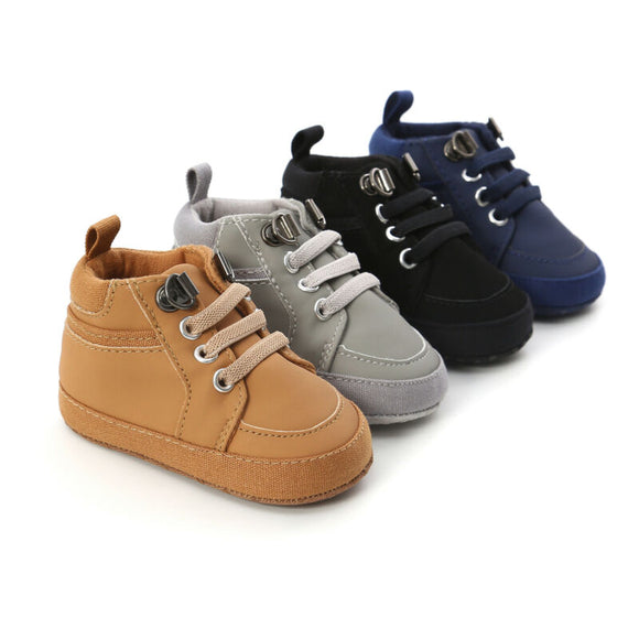 Baby High Top Timbers - 4 Colours - nixonscloset