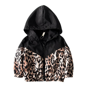 Leopard Wind Coat - nixonscloset