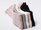 Ribbed knee high socks - 5 colours - nixonscloset