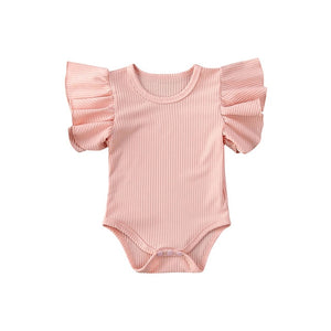Ribbed Wing Romper - 3 Colours - nixonscloset