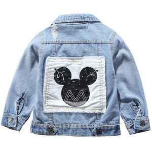 Mickey Denim Jacket - Mickey Ears - nixonscloset