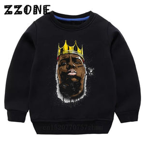 Biggie Crewneck - Graffiti Black - nixonscloset