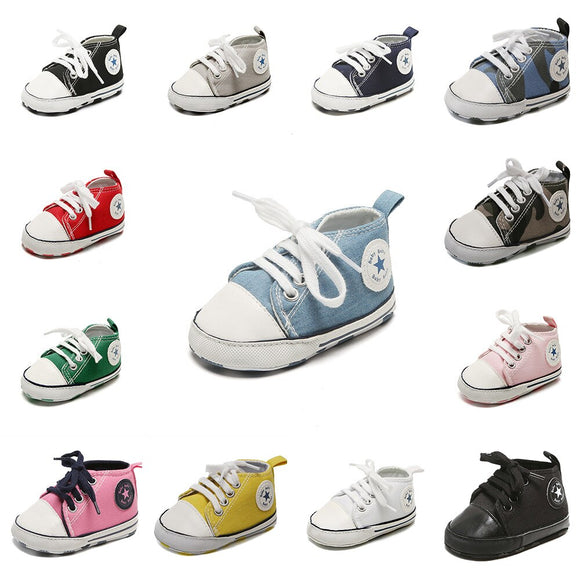 Canvas High Tops - 10 colours