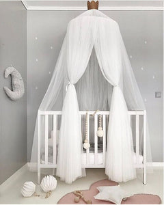 Baby cot bed canopy - 7 Colours