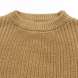 Chunky knit sweater - Coffee
