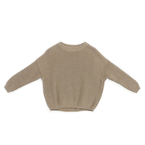 Chunky knit sweater - Beige