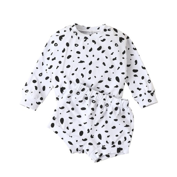 Cheetah spot set - White