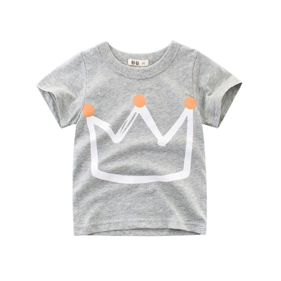 Crown tee - Grey