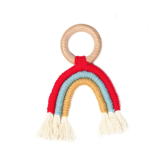 Rainbow teether - Red