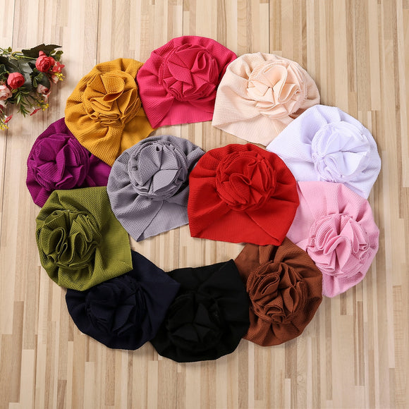 Ruffle turban - 12 Colours