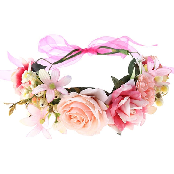 Flower Crown - Pink