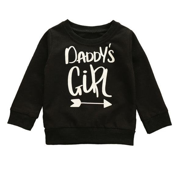 Daddys girl crewneck jumper