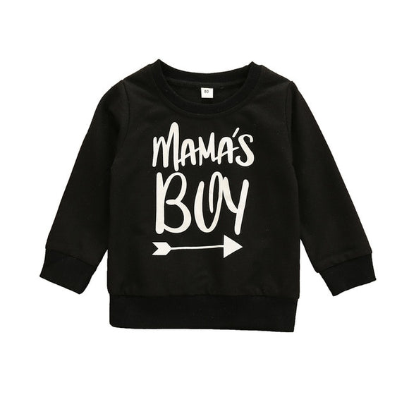 Mamas boy crewneck jumper