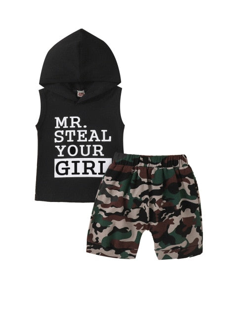 Steal your girl set - Black