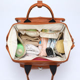 Leather Look Baby Bag - 3 Colours - nixonscloset