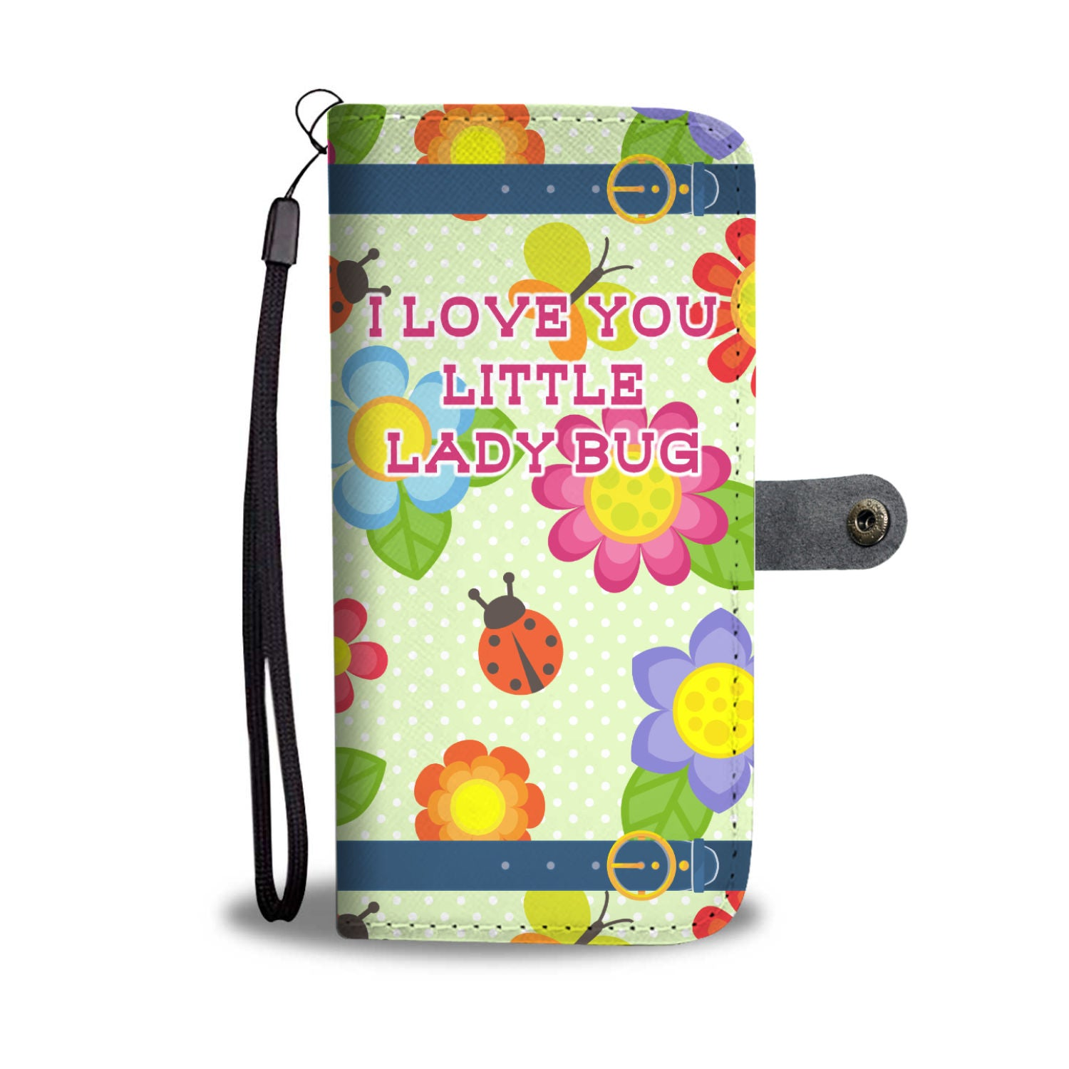 Little Lady Bug Love with Straps
