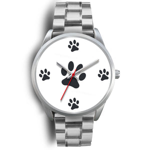 Paws Watch Silver Metal Link