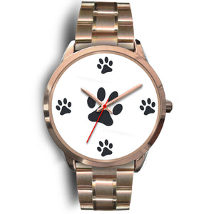 Paws Watch Gold Metal Link
