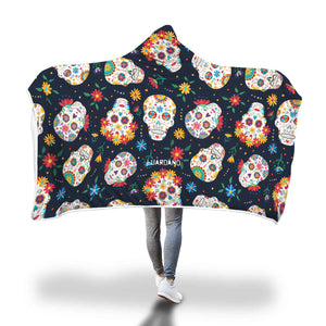 Suga Skulls Hooded Blanket