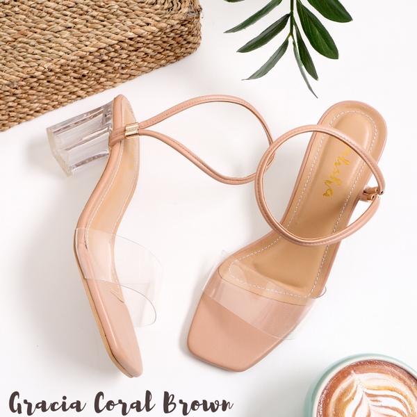 Gracia Coral Brown