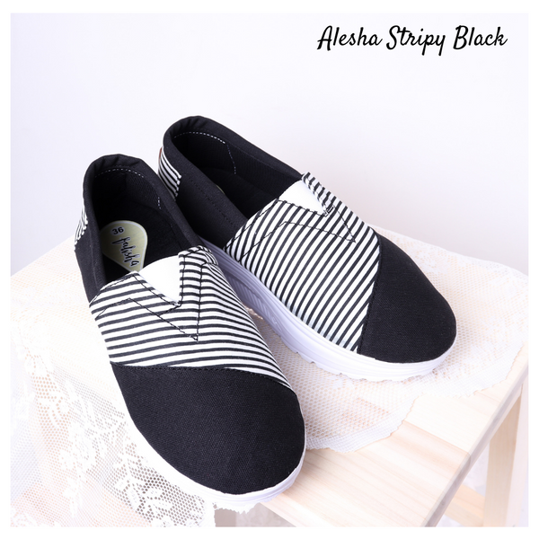 Alesha Stripy Black