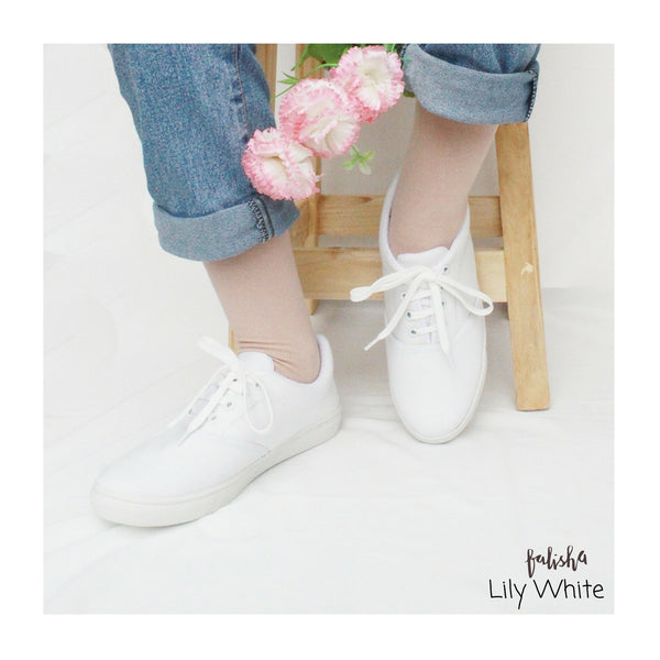 Lily White Sneakers