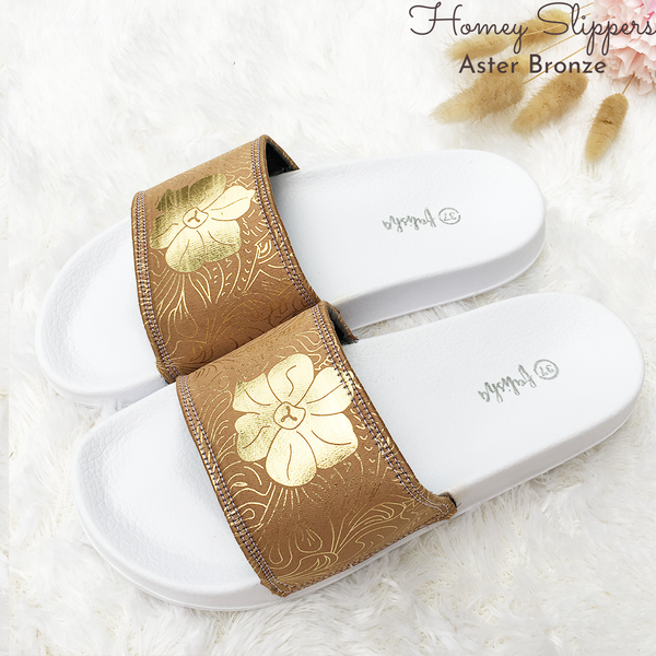 Homey Slippers - Aster Bronze