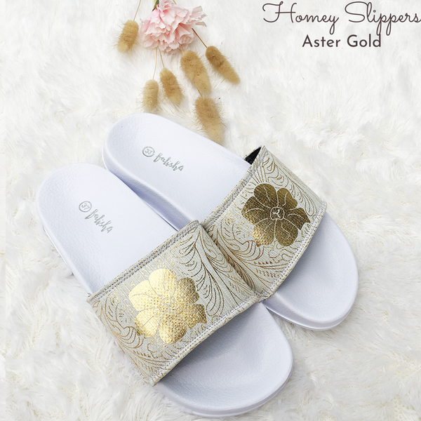 Homey Slippers - Aster Gold