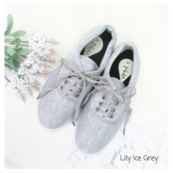 Lily Ice Grey Sneakers