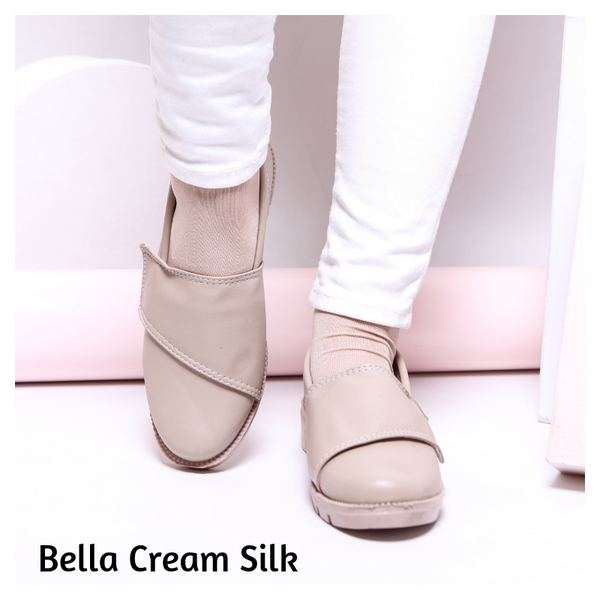 Bella Cream Silk (SALE)
